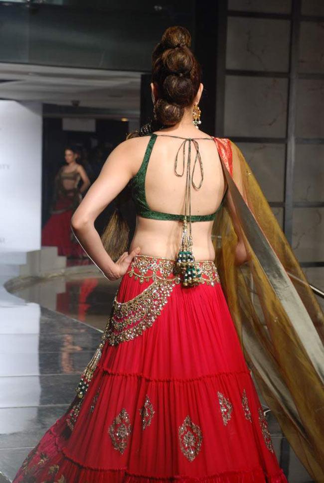 back open saree blouse designs