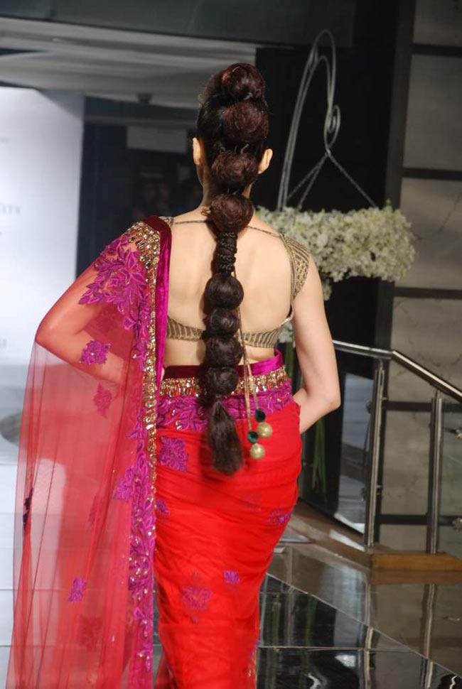 trendy blouse back design