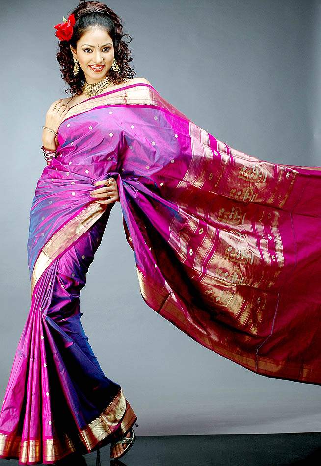 latest paithani sarees