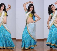 samantha in half saree