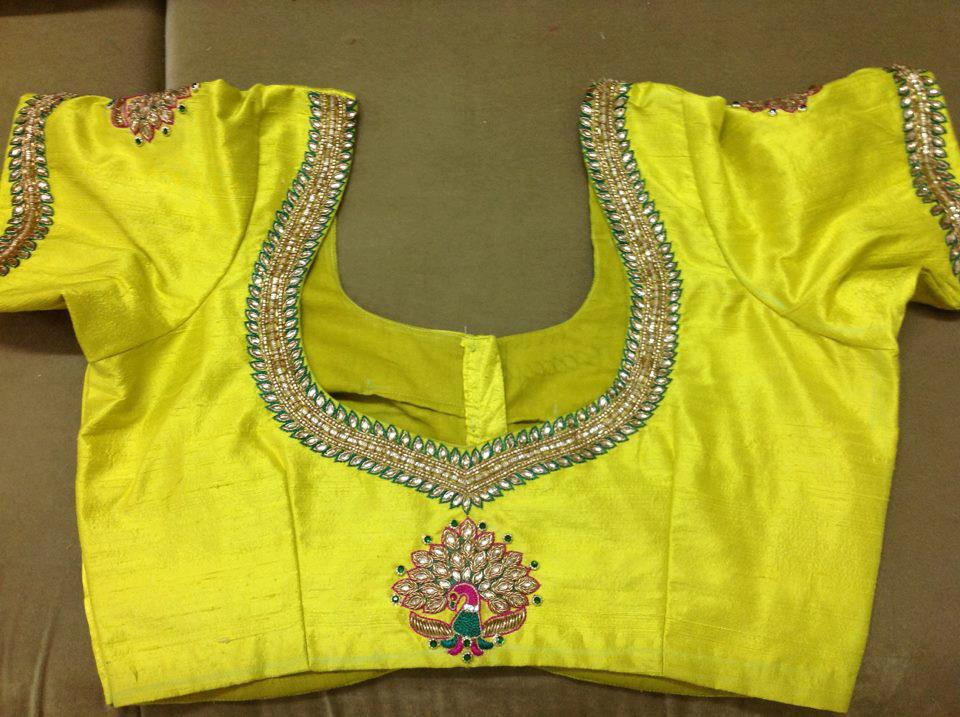 Pattu Blouse Back Neck Designs U2013 Boutiquesarees.com