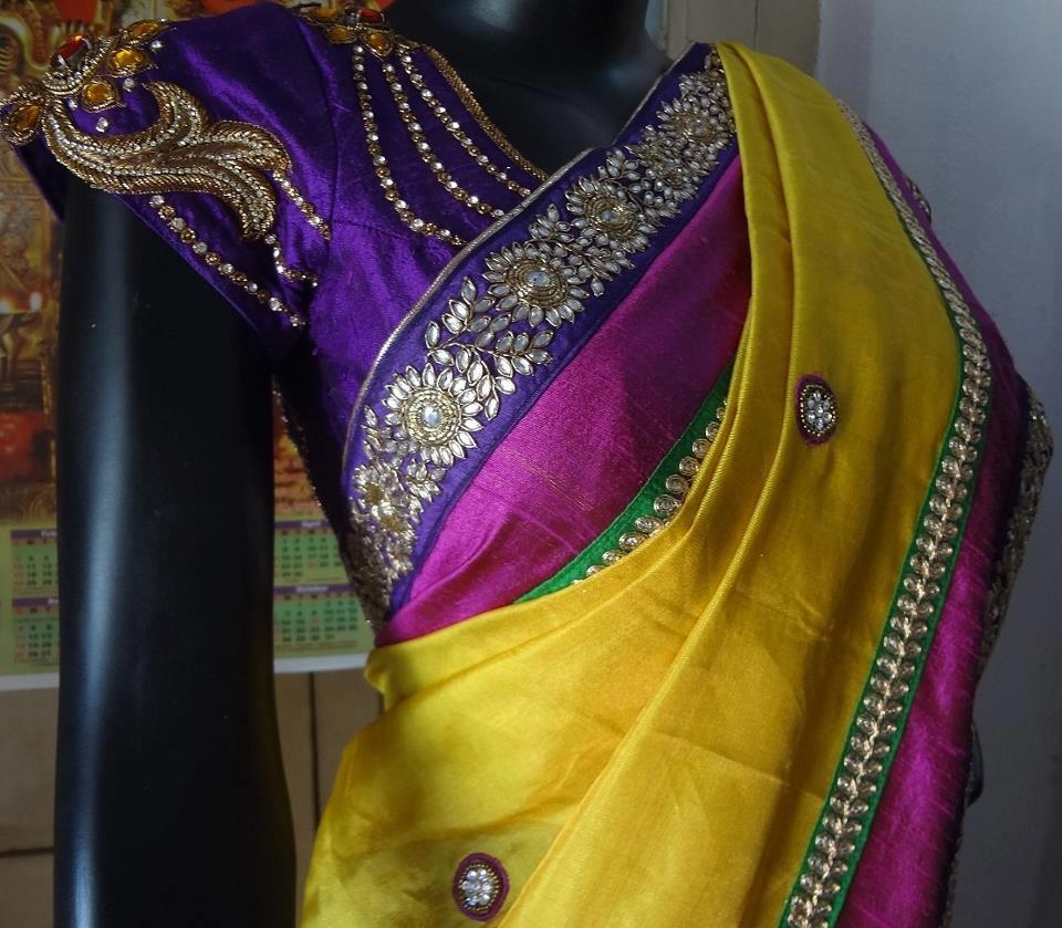 saree blouse designs catalogue