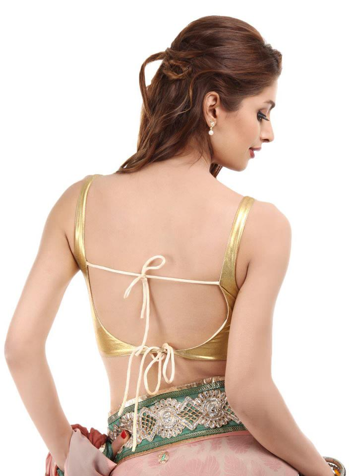 designer blouse back designs
