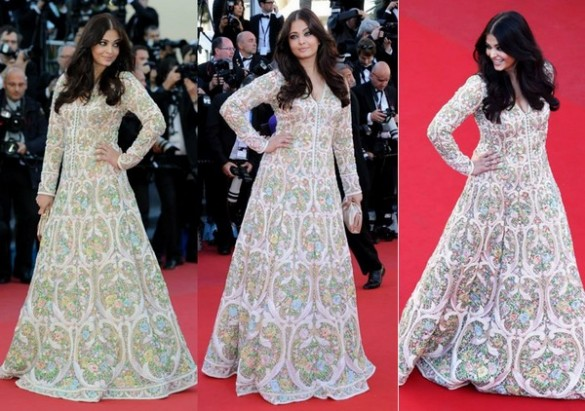 Aishwarya-Rai-In-Abu-Jani-Sandeep-Khosla-Gown-At-Cannes-Film-Festival-2013