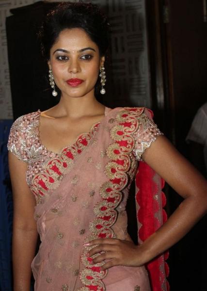 Bindu-Madhavi-In-Saree