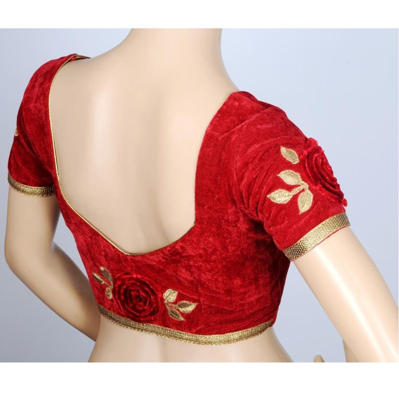 Blouse Front Neck Designs Boutiquesarees Com