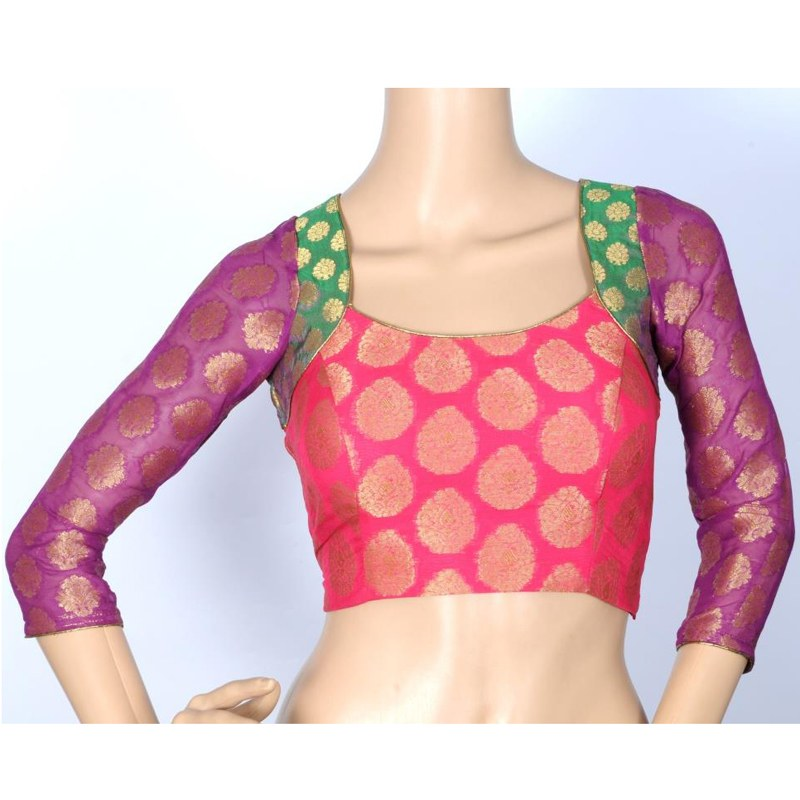 princess cut saree blouse