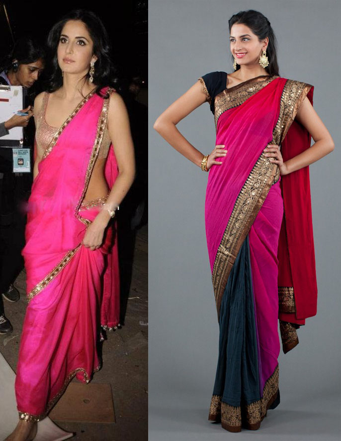 Bollywood-Style-Latest-Sarees-Collection-2013