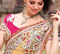 CUTWORK-SEQUINS-SAREE-WITH-BLOUSE