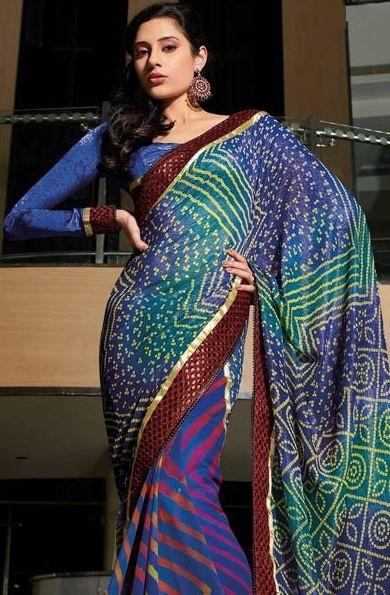 Latest_Bandhini_Saree_collection