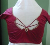 trendy blouse back design