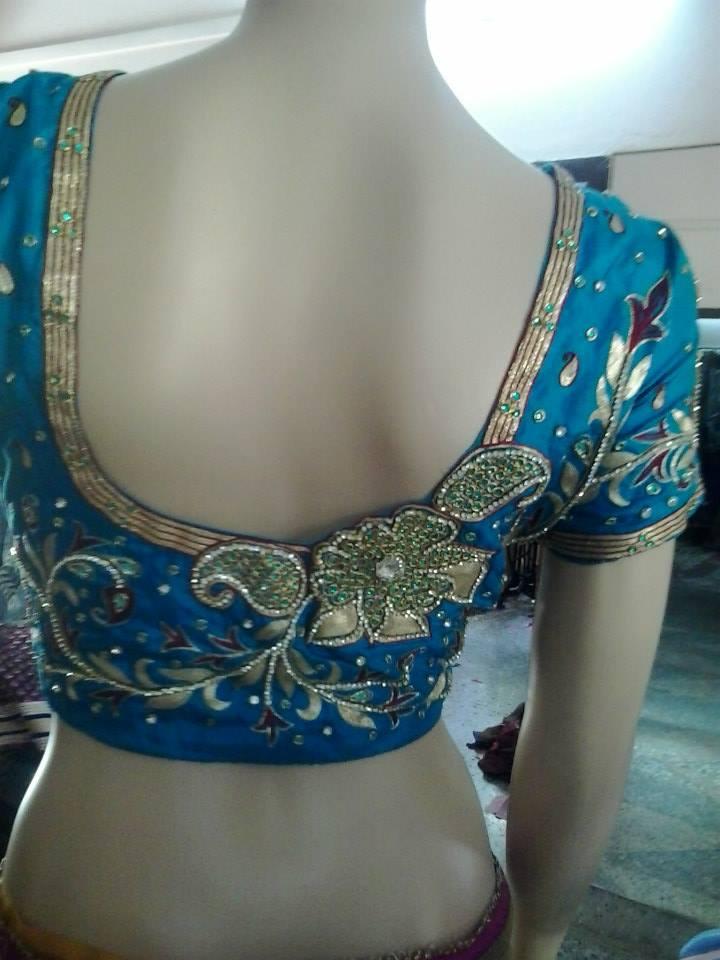 blouse back neck designs � page 11 � boutiquesareescom