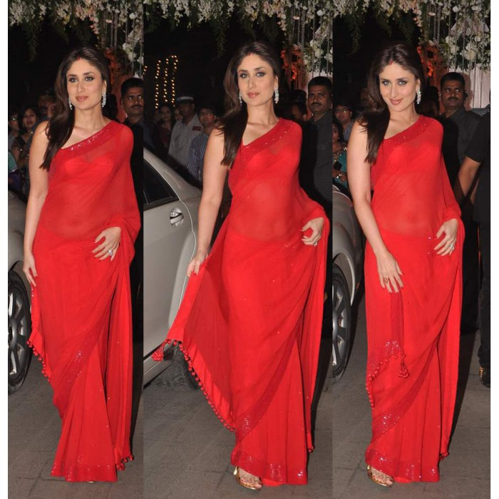 kareena-kapoor-red-faux-georgette-saree-bollywood-sari