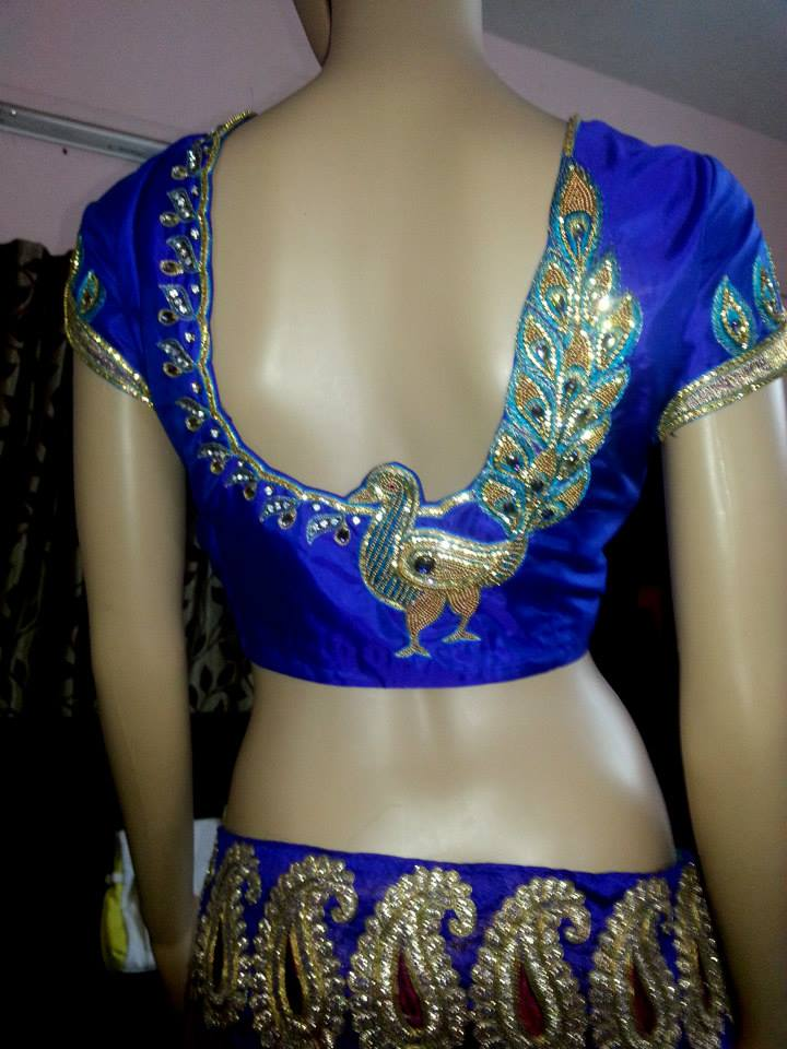 maggam work blouse