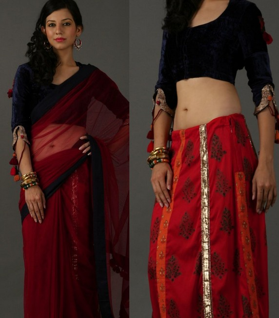 saree_sleeve_design