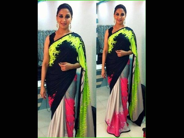 baduri in latest saree