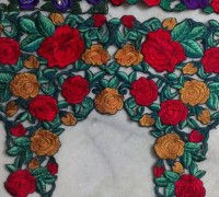 cutwork blouses latest