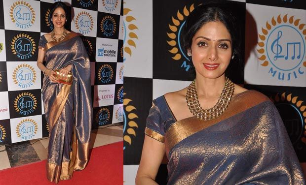 SRI DEVI IN SILK SAREE