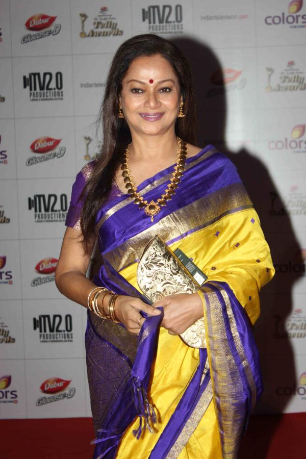 celebrities -in- silk -saree