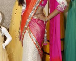 designer half sarees at neerus
