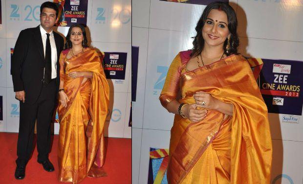 vidya-balan-in silk saree
