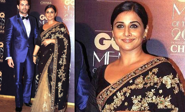 vidya-balan in half and half saree