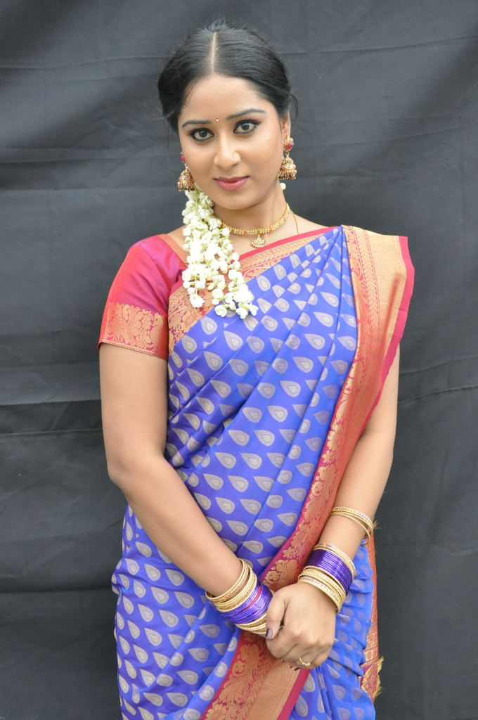 Tv Actress Sneha Saree Stills Boutiquesareescom