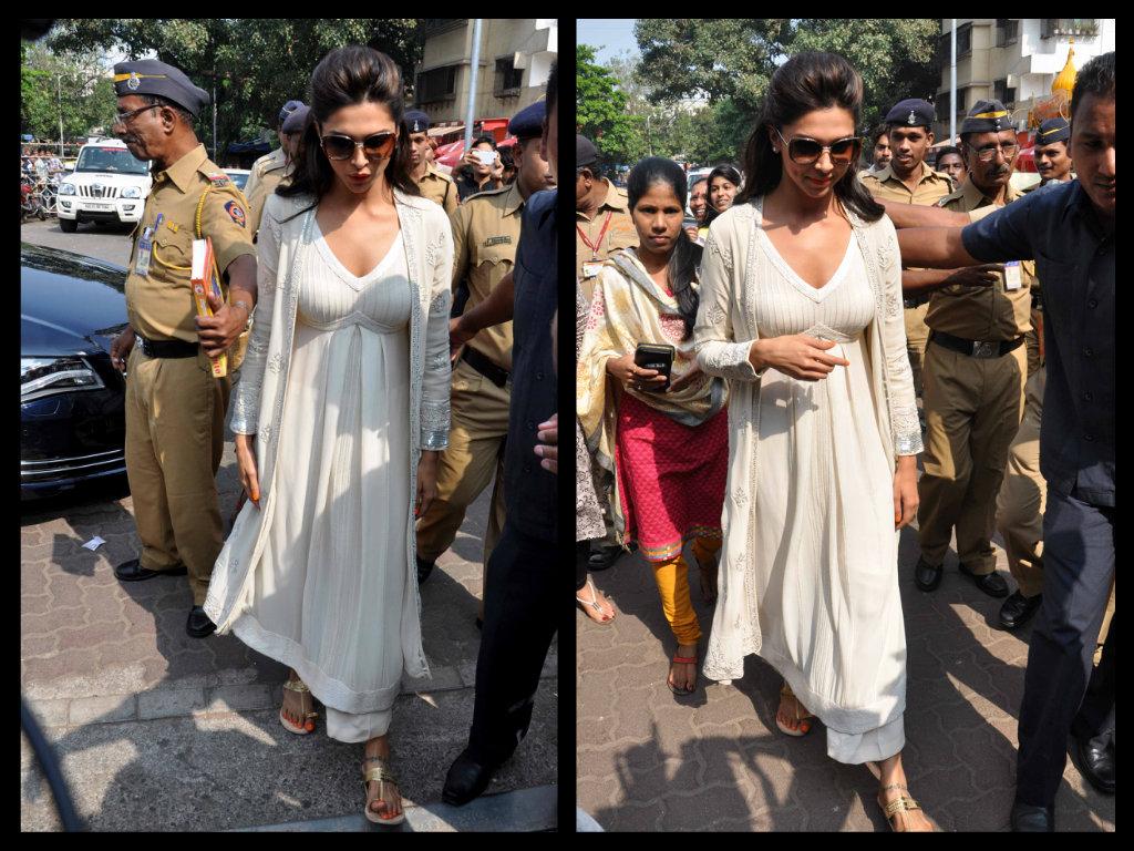 Deepika-Padukone-in white salwar