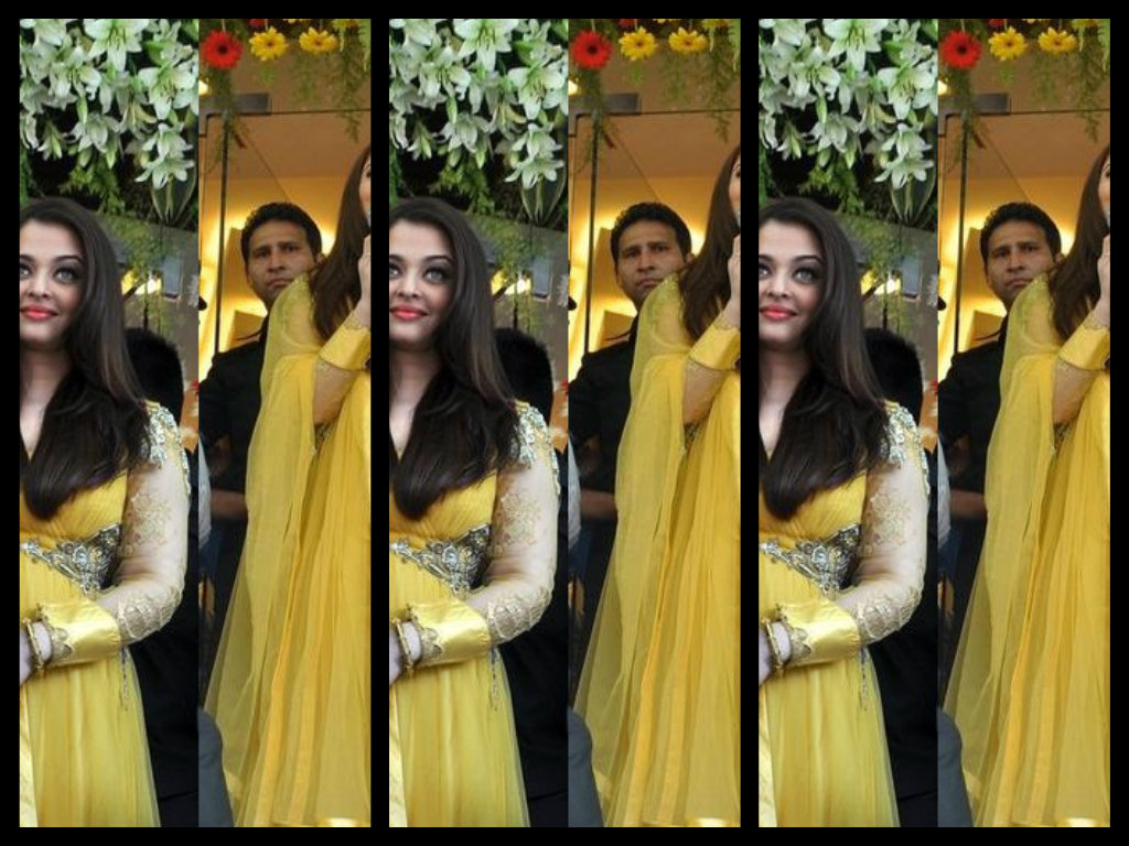 aishwarya in anarkali dress
