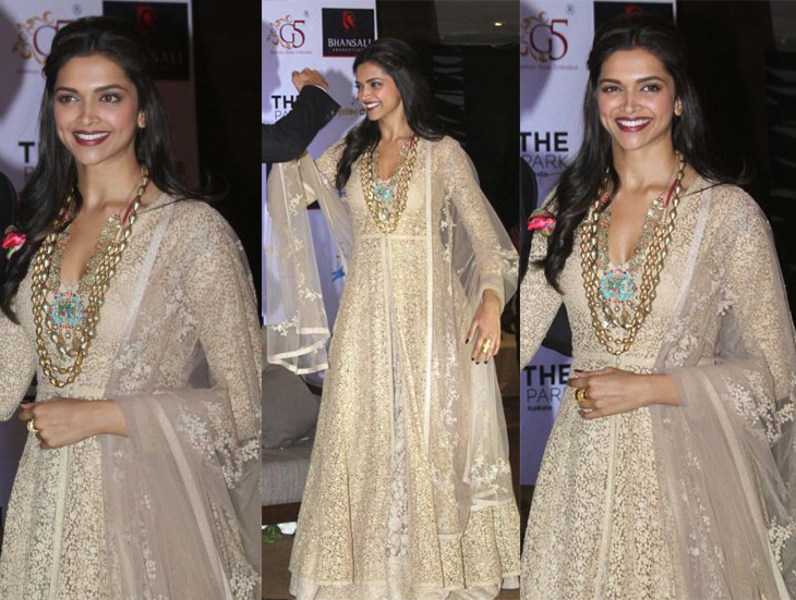 Image result for deepika padukone in diwali outfit