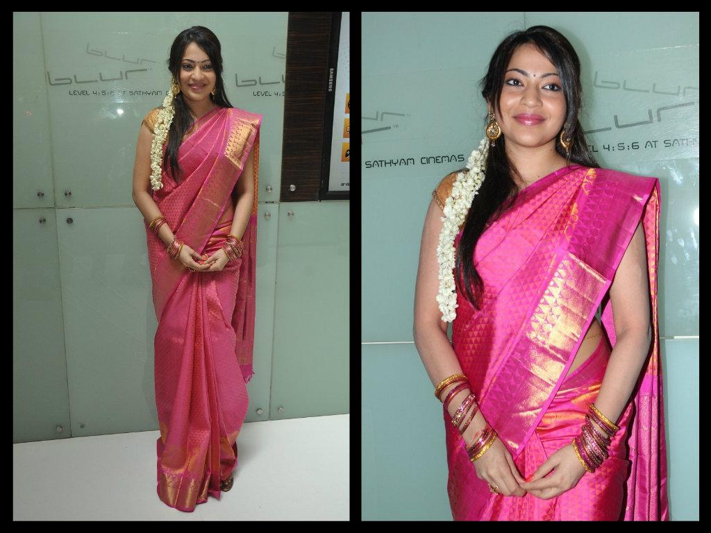 Rani Pink Colour Anchor Ramya In Pink Silk Saree Boutiquesarees Com