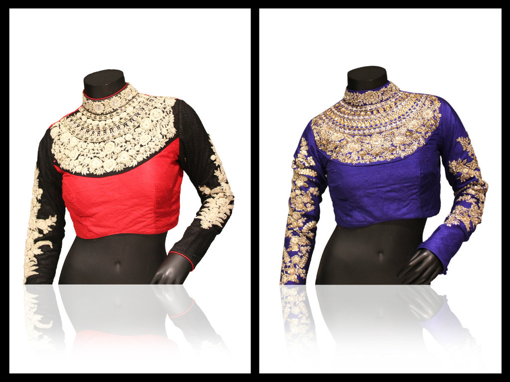 sabyasachi blouse collection