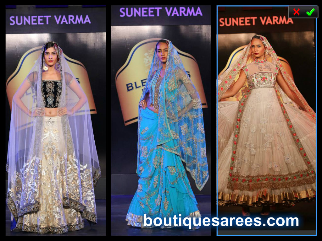 suneet varma lehenga collection