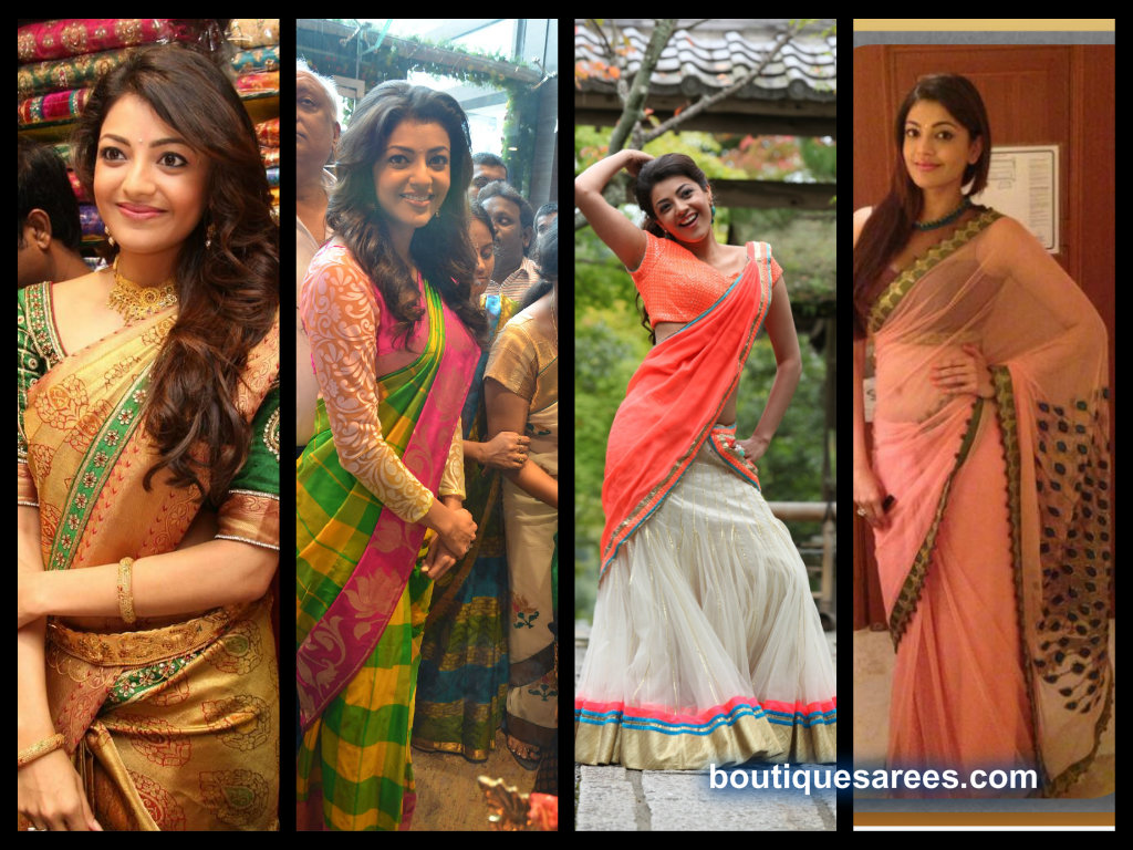Kajal Agarwal saree collection 2013