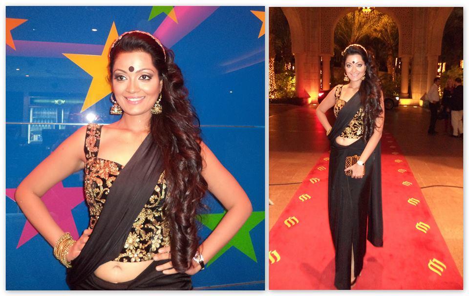 Sheena Chohan in Abhilasha saree