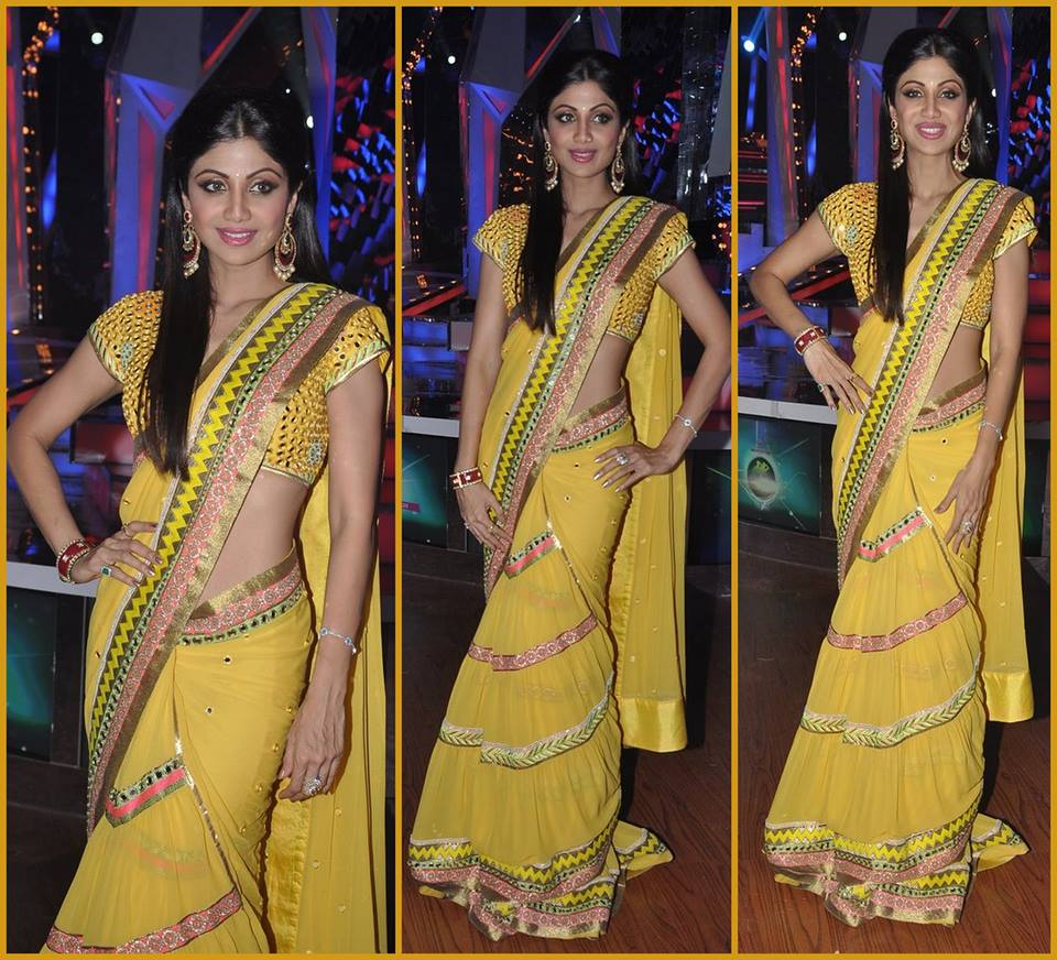 Shilpa Shetty in Surily Goel saree