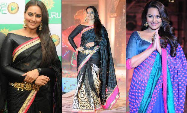 Sonakshi saree blouse