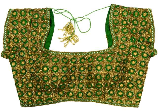 bridal work blouse design