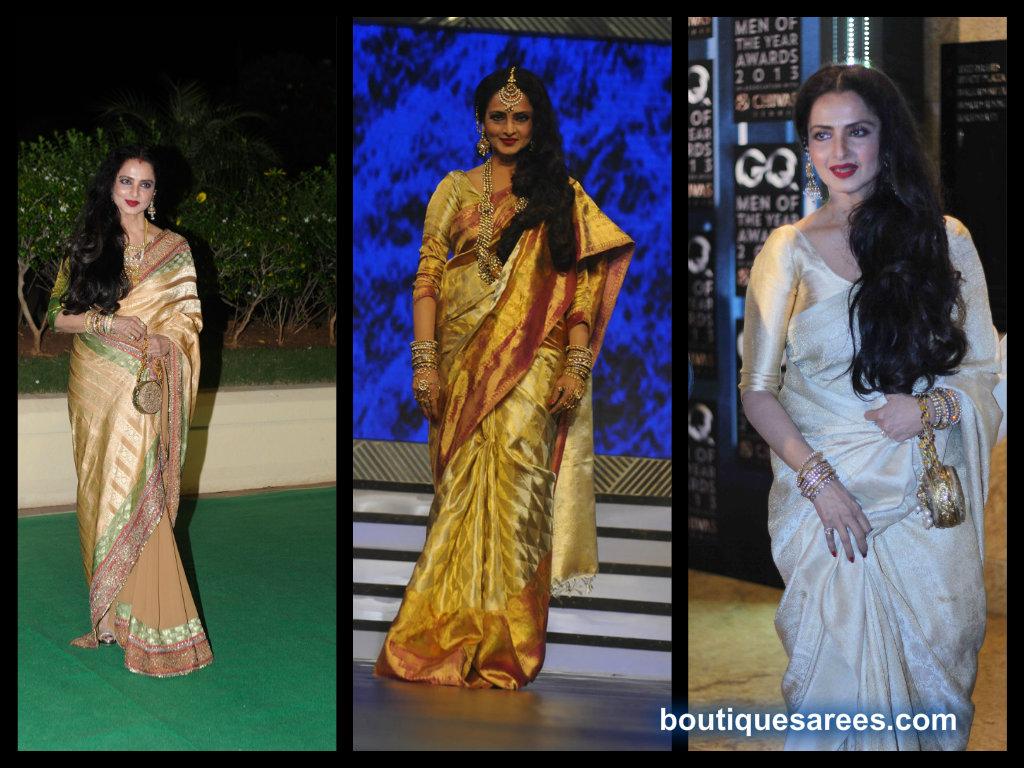 rekha saree collection