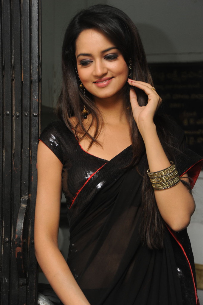 Actress Shanvi New Saree Stills