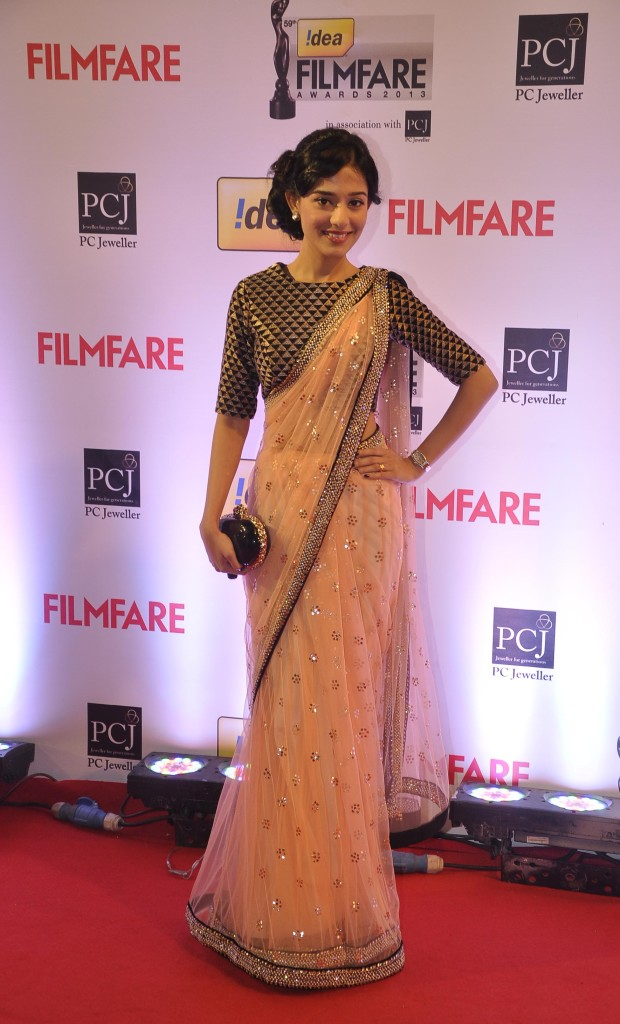 Amrita Rao in Payal Singhal Saree