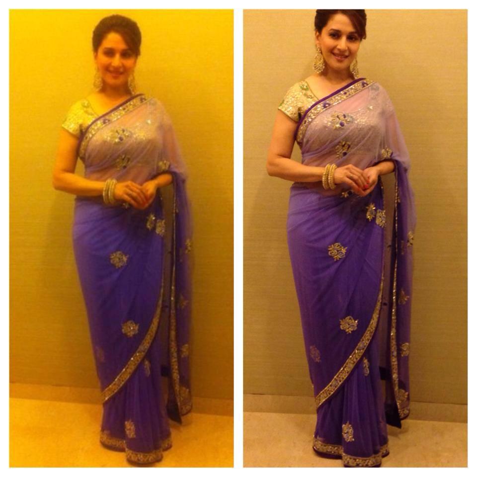 Madhuri Dixit  in arpita mehta saree
