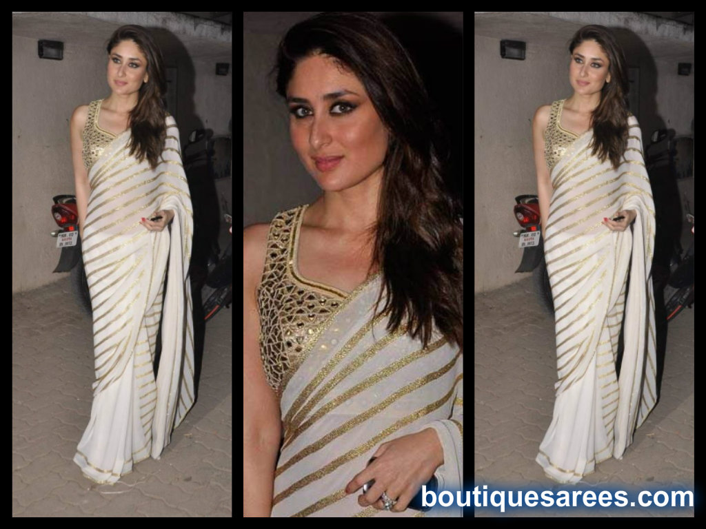 kareena kapoor in amrita thakur saree