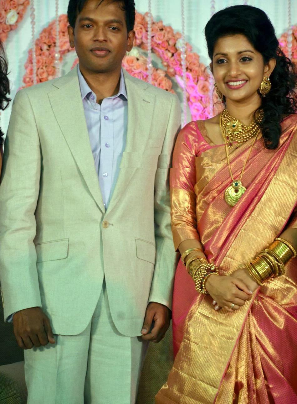 Meera Jasmine Wedding Saree