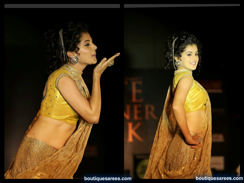 Tapsee On The Ramp @ Elite Designer Fashion Week