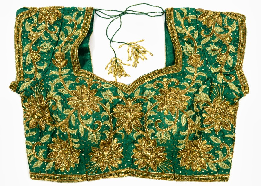 fully embroidery work blouse