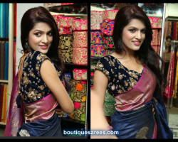 all over embroidery work blouse