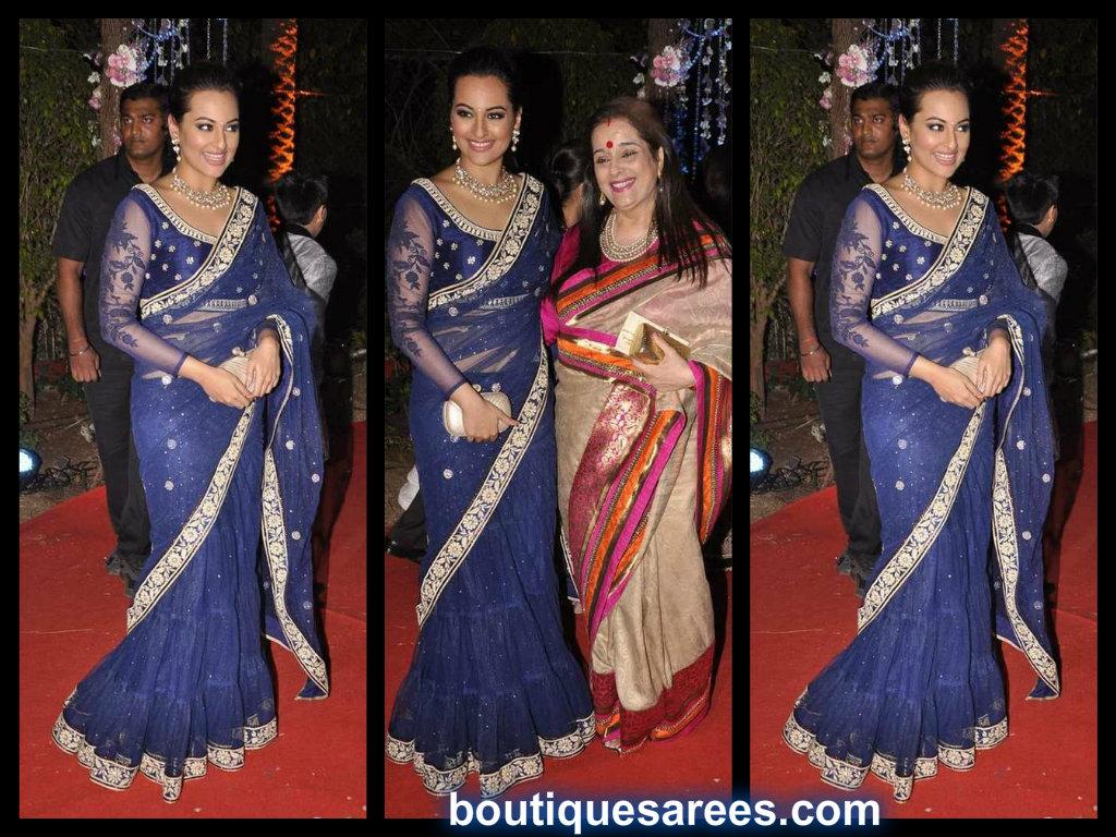 sonakshi sinha in lehenga sari