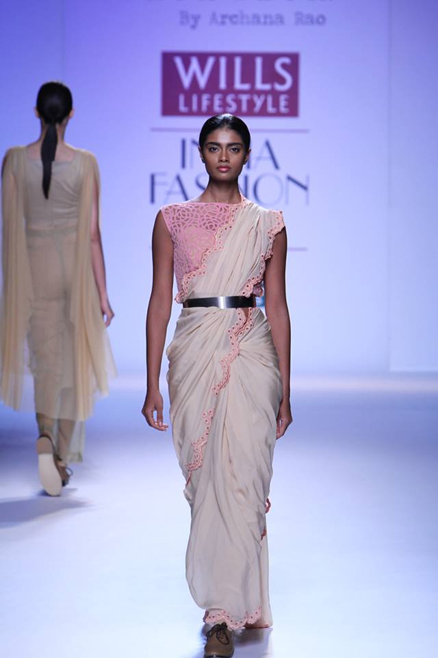 Archana Rao Saree at Wills Autumn Winter 2014