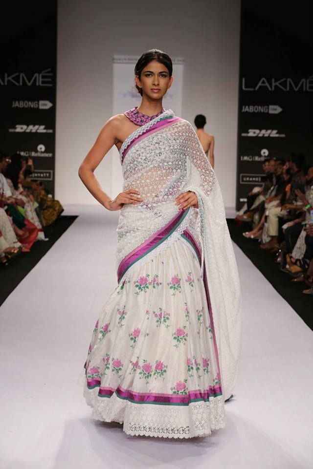 LEHENGA SAREE BY SHRUTHI SANCHETI
